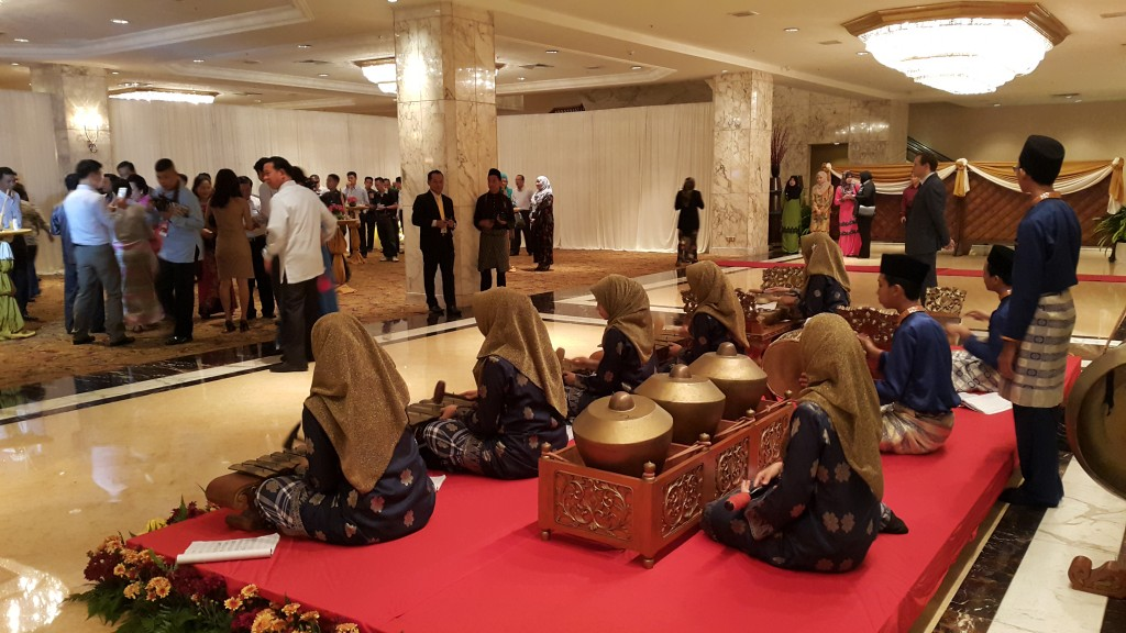PERSEMBAHAN GAMELAN SBP INTEGRASI GOMBAK SEMPENA 12th ASEAN CHIEFS OF DEFENCE MEETING