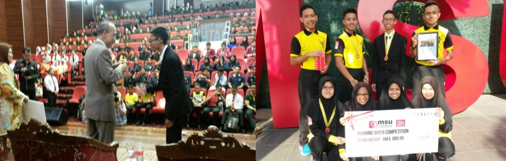 Running Math MSU President Cup 2016