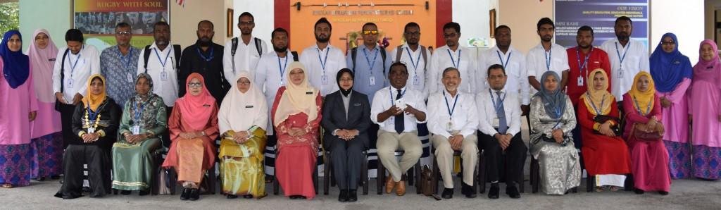 Lawatan Delegasi Maldives