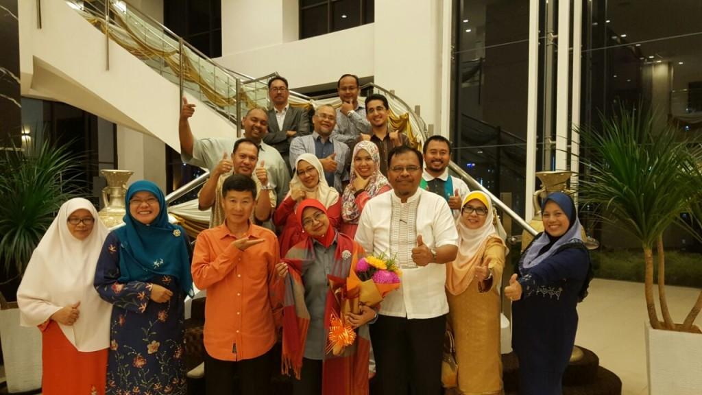 Majlis Perpisahan Pengetua Bersama-sama AJK PIBG 2016/17