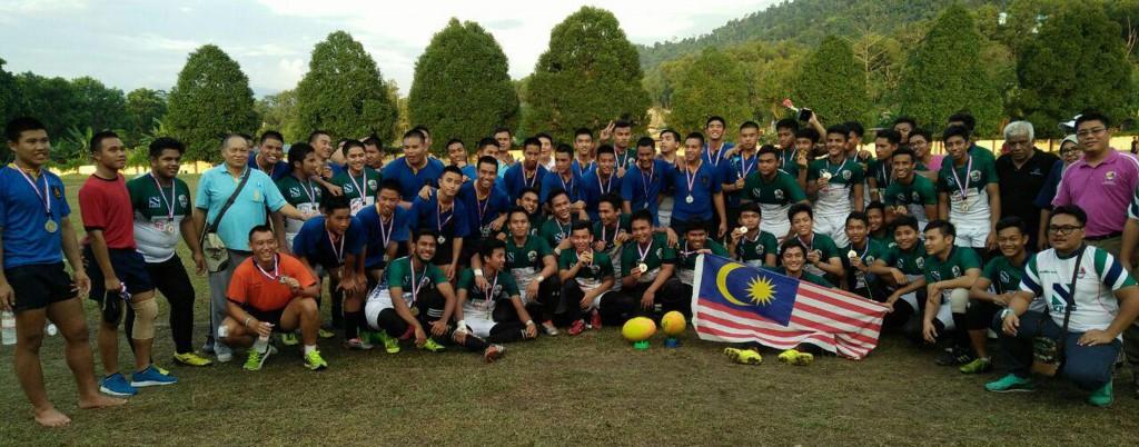 Ragbi Persahabatan  Dengan King Kolej Bangkok Thailand