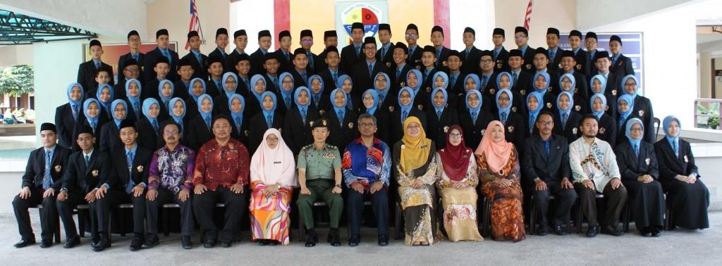 Majlis Watikah Pelantikan Badan Kepimpinan Murid