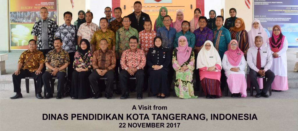 Lawatan Dinas Pendidikan Kota Tangerang, Indonesia