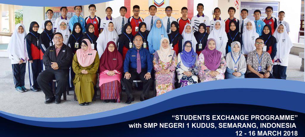 Program Pertukaran Murid dengan SMP Negeri 1 Kudus, Indonesia