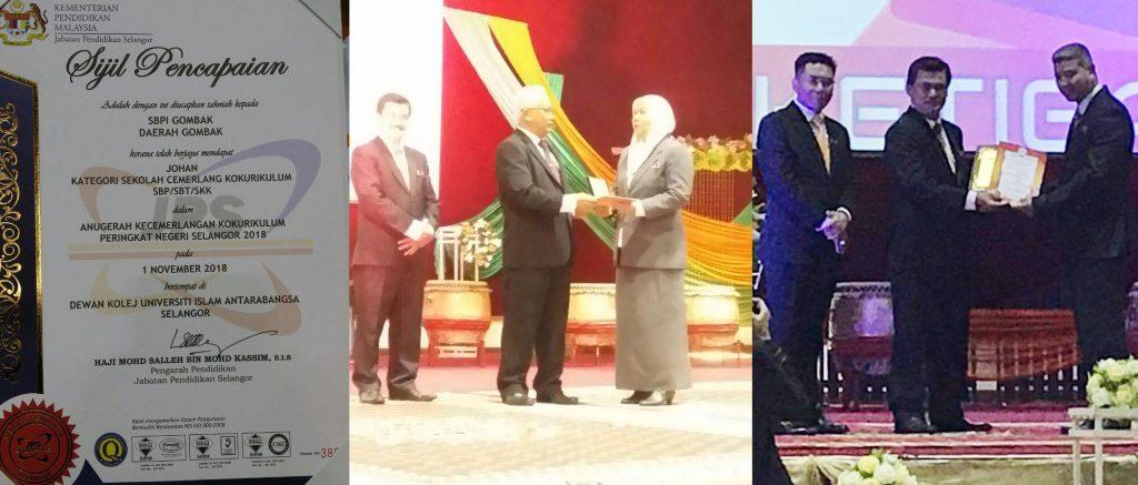 Anugerah Kecemerlangan Kokurikulum Negeri Selangor 2018