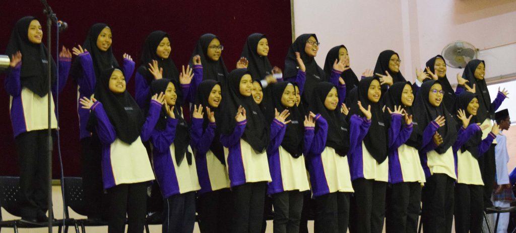 Majlis Menggilap Bintang Tingkatan 1