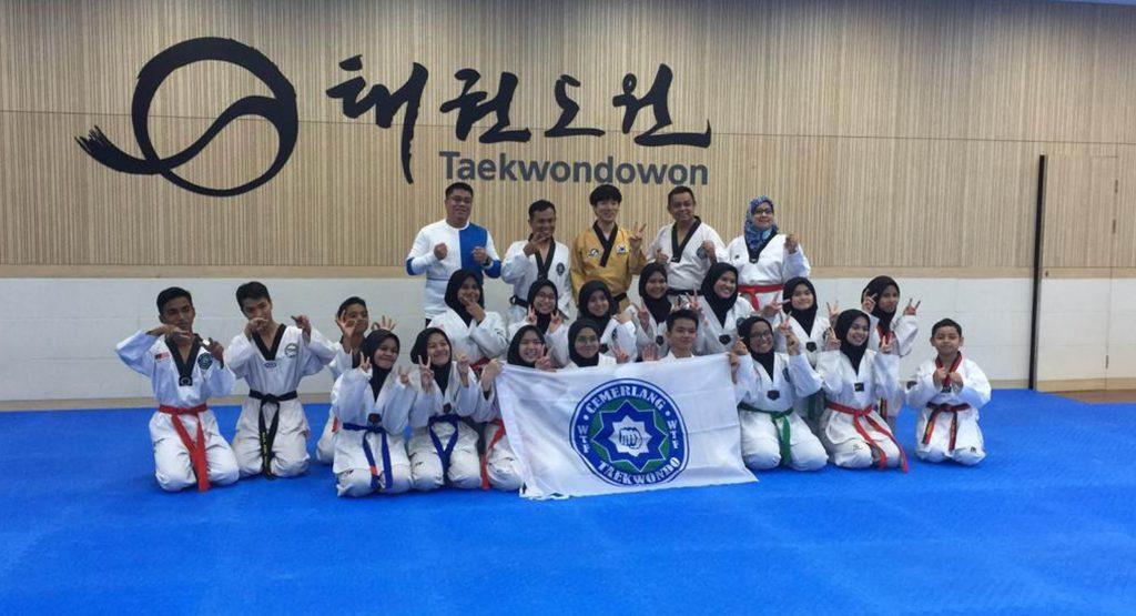 Program Pengantarabangsaan Taekwondo di Muju, Korea