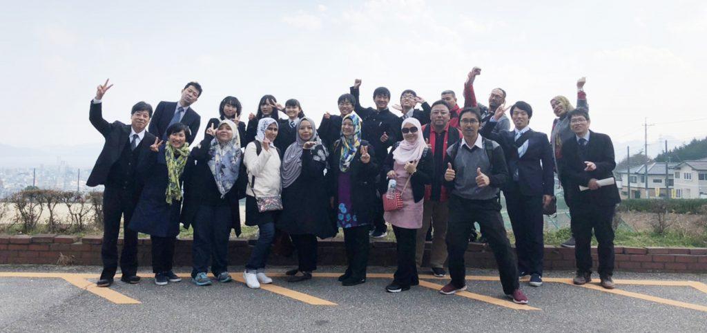 Lawatan Ke Sekolah Itsukaichi, Hiroshima